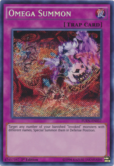 Omega Summon - FUEN-EN037 - Secret Rare - 1st Edition