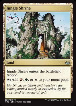 Jungle Shrine - Foil