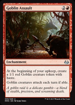 Goblin Assault - Foil