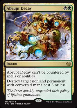Abrupt Decay - Foil