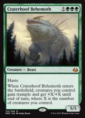 Craterhoof Behemoth - Foil on Channel Fireball