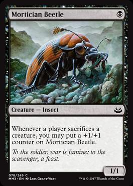 Mortician Beetle - Foil