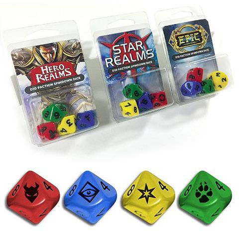 Legion Supplies - Epic Dice: 4 Count D10 Set