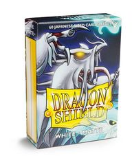 Dragon Shield Sleeves: Japanese Matte White (Box Of 60)