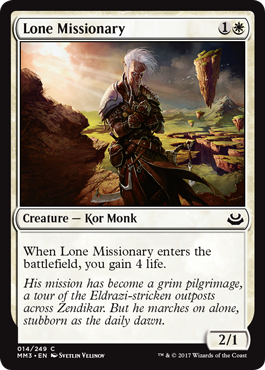 Lone Missionary - Foil
