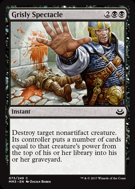 Grisly Spectacle - Foil