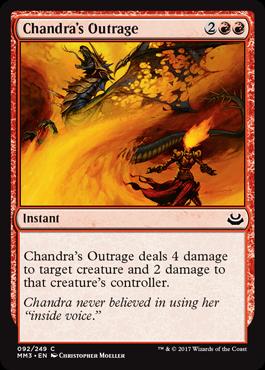 Chandras Outrage - Foil