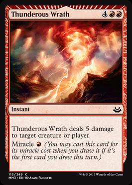 Thunderous Wrath - Foil