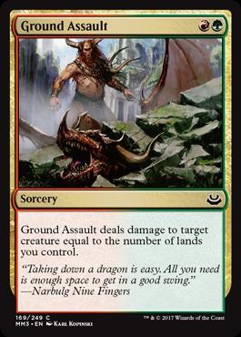 Ground Assault - Foil