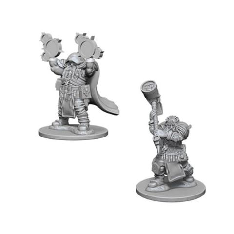 Nolzurs Marvelous Miniatures - Dwarf Male Cleric
