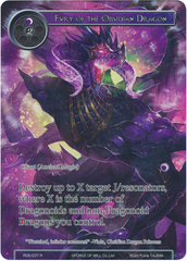 Fury of the Obsidian Dragon - RDE-037 - R - Full Art