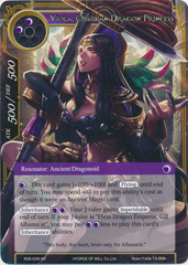 Viola, Obsidian Dragon Princess - RDE-039 - SR