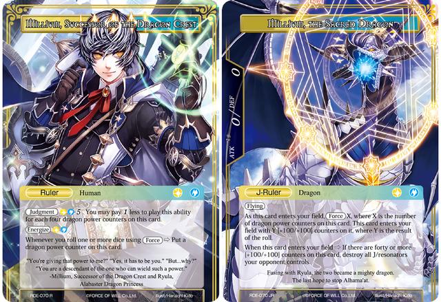 SR-RDE-043-NM FoW Return of the Dragon Emperor Almerius Summoner of Spirits