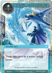 Manservant to the Water God - RDE-022 - U - Foil