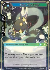 Moon View Rabbit - RDE-072 - R - Foil