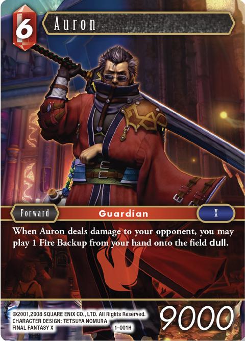 Auron - 1-001H - Foil