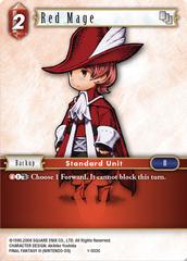 Red Mage - 1-003C - Foil