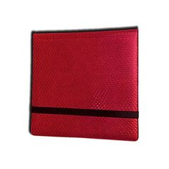 Legion 12 Pocket Dragon Hide Binder: Red