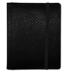 Legion 4 Pocket Dragon Hide Binder:  Black