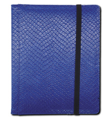 Legion 4 Pocket Dragon Hide Binder:  Blue