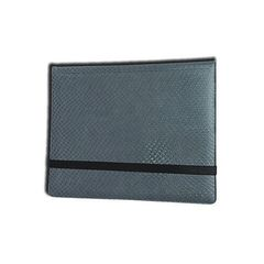 Legion 2 X 4 Folio - 8 Pocket Binder, Dragon Hide Grey