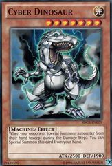 Cyber Dinosaur - SDCR-EN009 - Common - Unlimited Edition on Channel Fireball