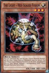 The Light - Hex-Sealed Fusion - SDCR-EN017 - Common - Unlimited Edition