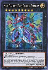 Neo Galaxy-Eyes Cipher Dragon - RATE-EN049 - Super Rare - Unlimited Edition