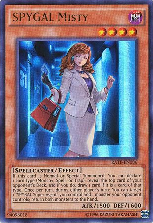 SPYGAL Misty - RATE-EN086 - Ultra Rare - Unlimited Edition