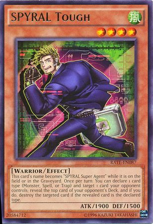 SPYRAL Tough - RATE-EN087 - Rare - Unlimited Edition