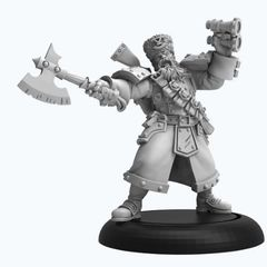 Warmachine: Khador - Winter Guard Artillery Kaptain