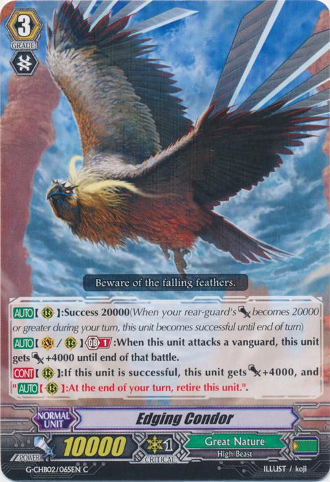 Edging Condor - G-CHB02/065EN - C