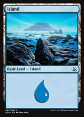 Island (29) on Channel Fireball