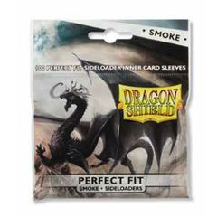 Dragon Shield Sleeves: Perfect Fit Side Load Smoke (100 Standard Size)