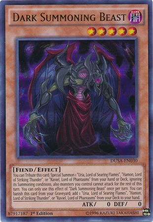 Dark Summoning Beast - DUSA-EN030 - Ultra Rare - 1st Edition