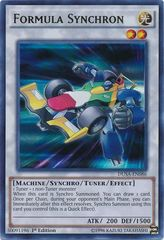 Formula Synchron - DUSA-EN086 - Ultra Rare - 1st Edition on Channel Fireball
