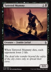 Tattered Mummy - Planeswalker Deck Exclusive