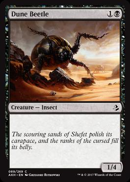 Dune Beetle - Foil