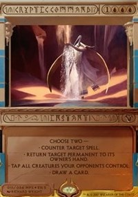 Cryptic Command (Masterpiece Foil)
