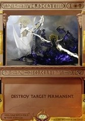 Vindicate - Foil (Amonkhet Invocation)