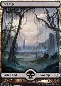 Swamp (Full Art) (252) - Foil