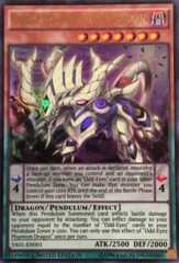 Odd-Eyes Phantom Dragon - Ultra Rare - YA01-EN001 - Limited Edition
