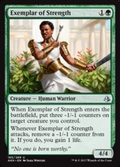 Exemplar of Strength - Foil