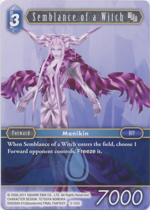 Final Fantasy TCG OPUS 2 Amon 2-098L Legendary