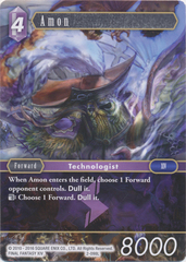 Amon - 2-098L - Foil on Channel Fireball