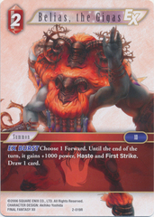 Belias, the Gigas - 2-019R - Foil on Channel Fireball