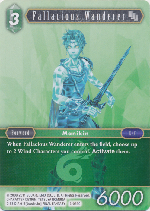 Fallacious Wanderer - 2-069C - Foil