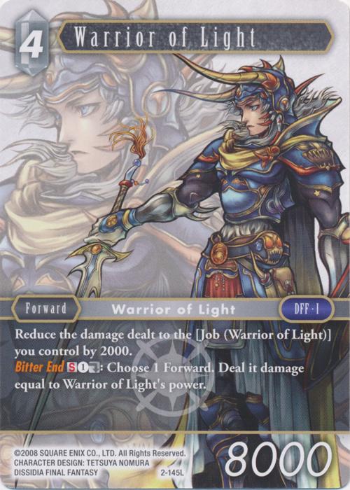 Warrior of Light - 2-145L - Foil