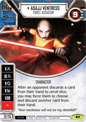 Asajj Ventress - Force Assassin