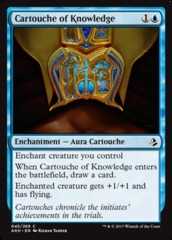 Cartouche of Knowledge - Foil on Channel Fireball